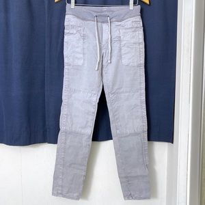 James Perse Light Gray Cargo Pants